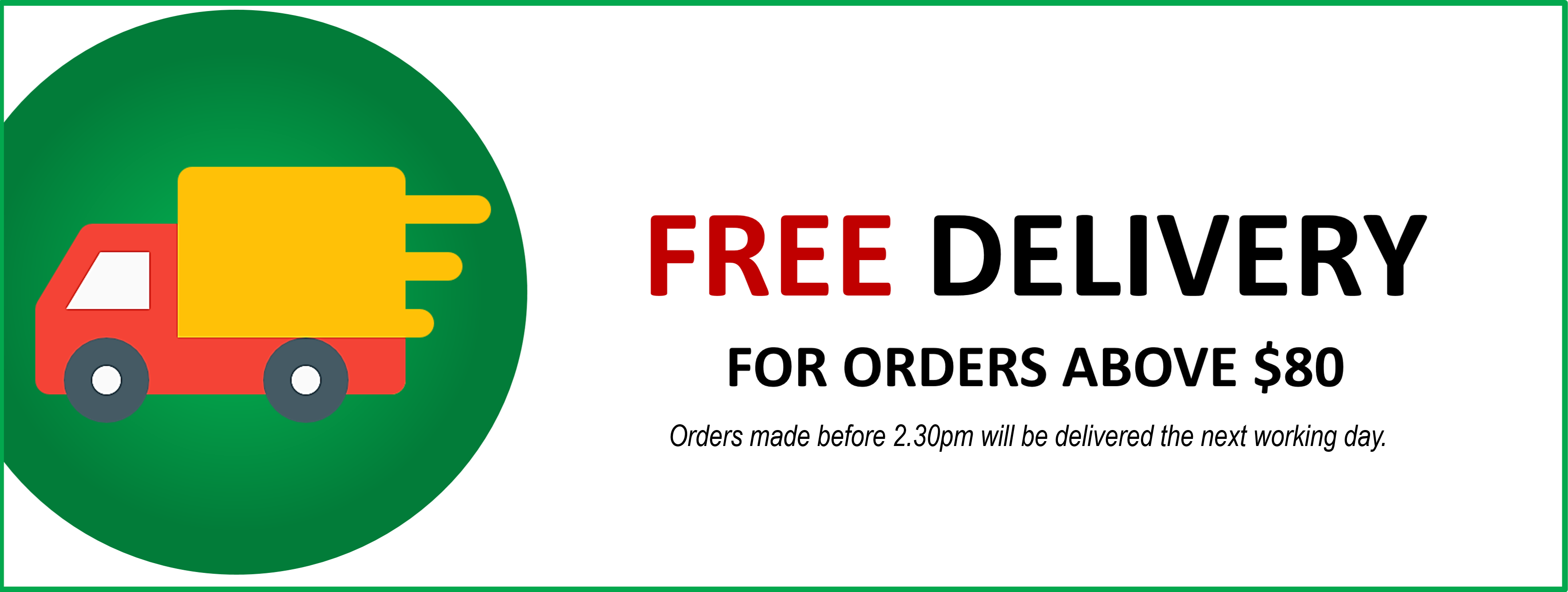 delivery banner